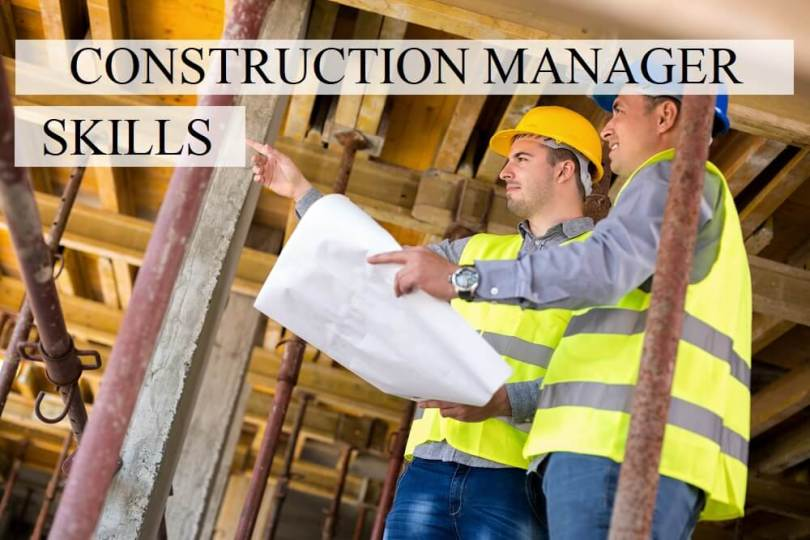 Construction manager skills