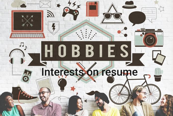 31+ Examples of Hobbies & Interests On Resume, Wantcv.com