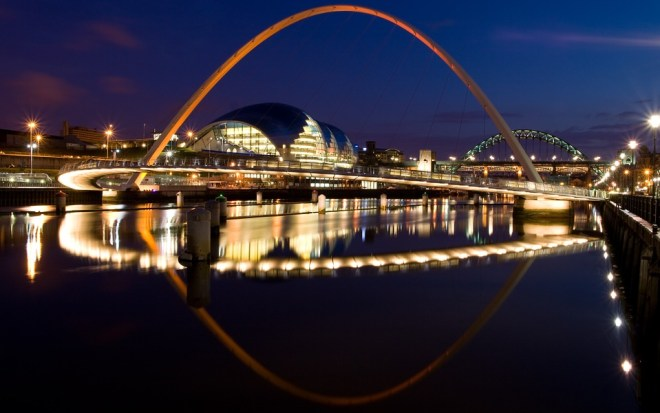 Newcastle-Gateshead. Doesn't look so bad, does it?