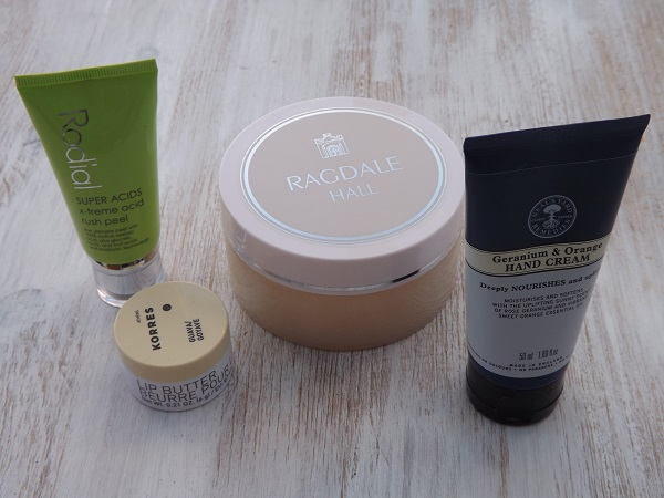 Four beauty products