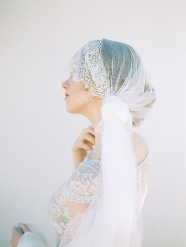 The Most Romantic, Stylish & Unique Bridal Veils You Ever Did See ...
