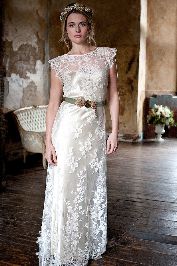 vintage inspired wedding dresses lace