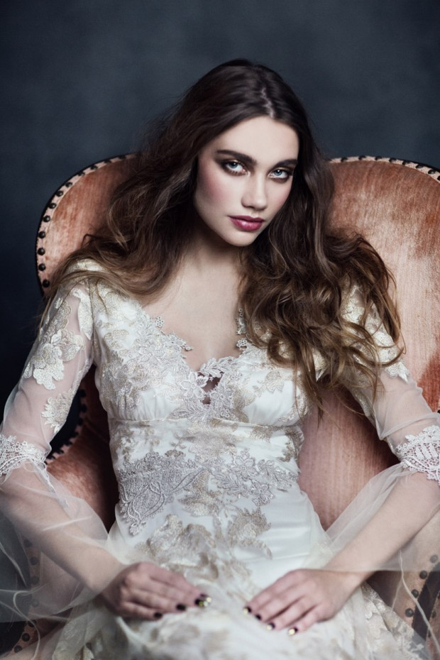 Gothic Angel Wedding Dresses By Claire Pettibone