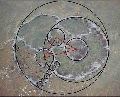 Gulden Snede in Adam's Calendar in Zuid Afrika