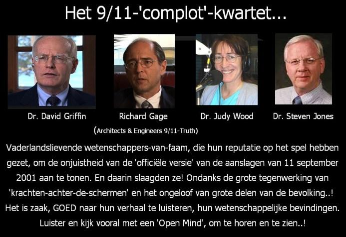 9-11-complot-kwartet