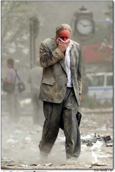 Nu de rook van 9/11 is opgetrokken, laat het rookgordijn rondom de werkelijke toedracht steeds meer kale plekken zien. De waarheid is steeds verder aan het licht gekomen! Dit soort plaatjes waren koren op de molen van de angstzaaiers..