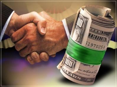 Big Pharma bribe money