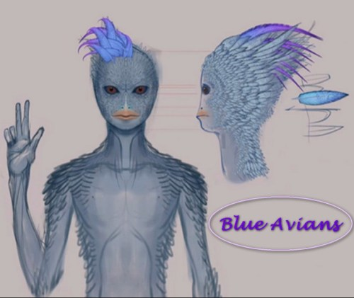 Blue Avians