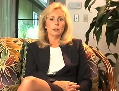 Brice Taylor tijdens één van haar interviews, na het verschijnen van haar boek 'Thanks for the Memories'.