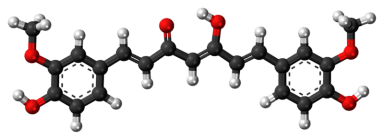 En zo ziet het er onder de microscoop uit, de moleculaire opbouw van curcuma.. Niet patenteerbaar maar wel kopieerbaar..?!
