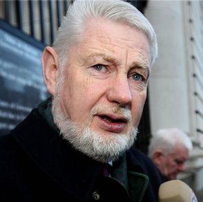 David Begg, voorzitter van de overkoepelende Ierse vakbond ICTU. (Irish Congress of Trade Unions)