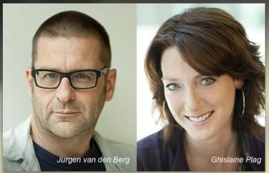 De twee interviewers van het NCRV-programma 'De Ochtend', dat op 9 januari 2014 Dr. Hans van der Linden interviewde over de zotheid van de jaarlijkse griepprik.
