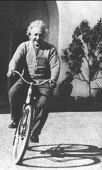 Einstein fiets