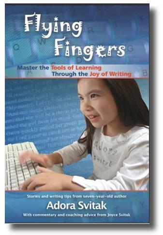 cover van het boek 'Flying Fingers'..