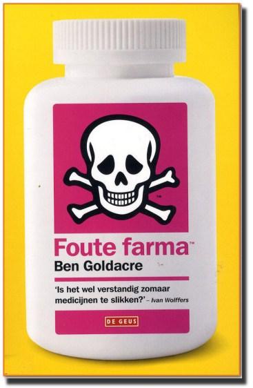 Foute farma Boekcover Ben Goldacre
