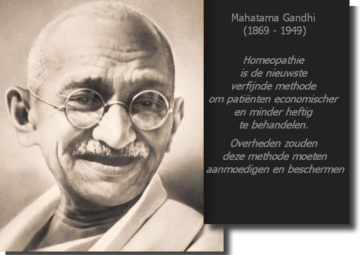 Gandhi homeopathie