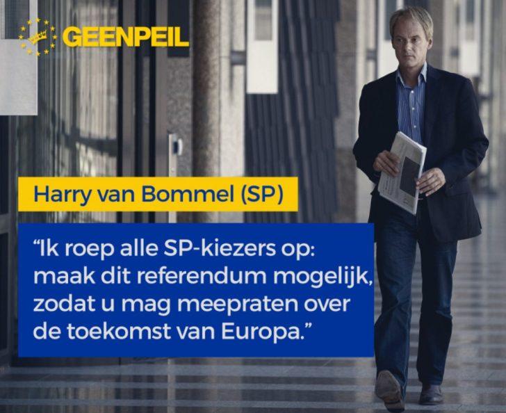 Geen peil van Bommel