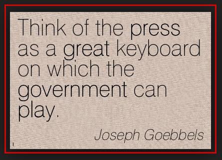 Goebbels Press keyboard