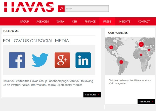 HAVAS press France
