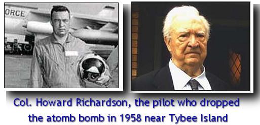 Howard Richardson atombomb Tybee Island