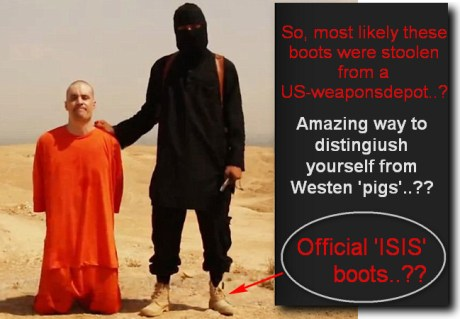 ISIS boots..