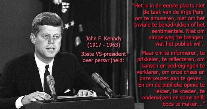 JFK over persvrijheid