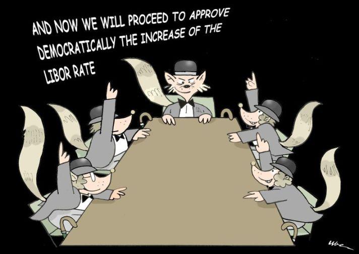 Libor cartoon rats