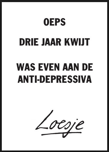 Loesje antidepressiva