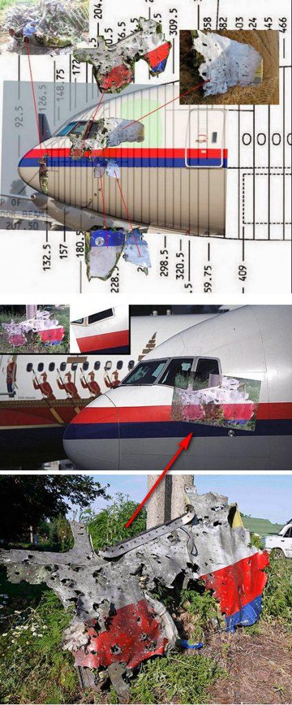 MH17 cockpit analyse