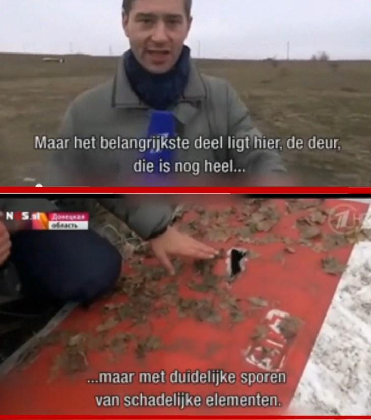 MH17 deur Russische reportage