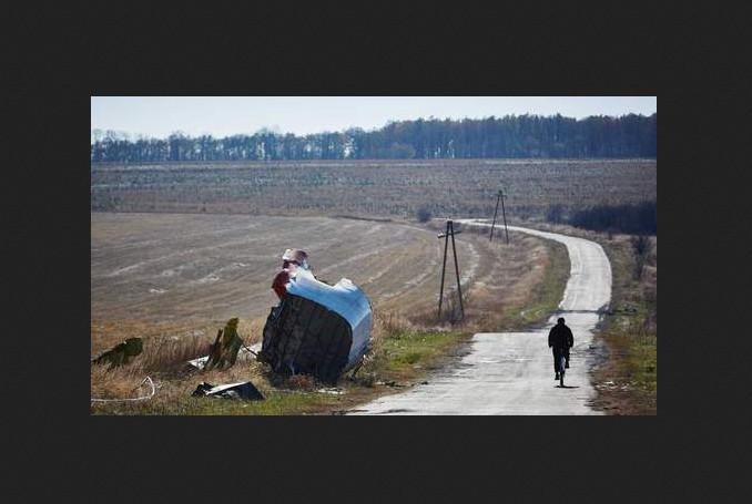 MH17 fietser