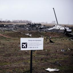 MH17 verboden toegang