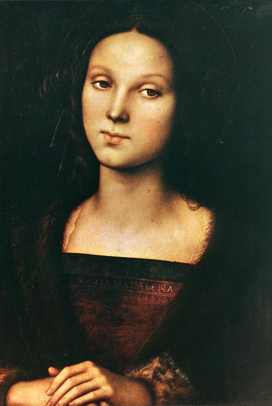 Maria Magdalena door Pietro Perugino