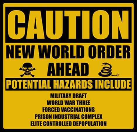NWO waarschuwingsbord