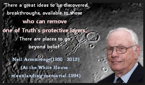 Neil Armstrong Moonlanding Memorial Quote