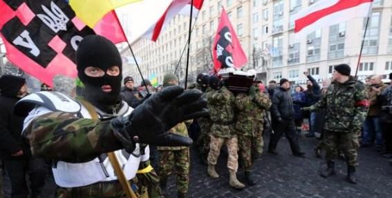Ultra-rechtse beweging die het 'voor het volk opneemt'..?? Een twijfelachtige en uiterst discutabele, maar vooral zichtbare (!) manifestatie.