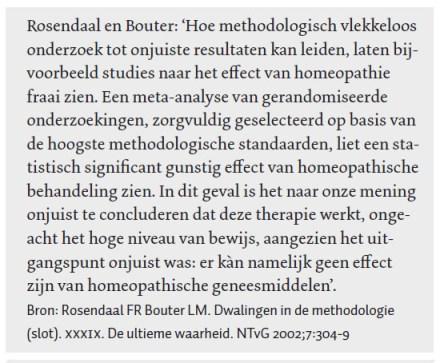 Roosendaal en Bouter homeopathie