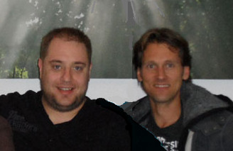 Robert vd Broeke en zjin vriend Roy Boschman