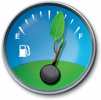 Save-fuel-meter