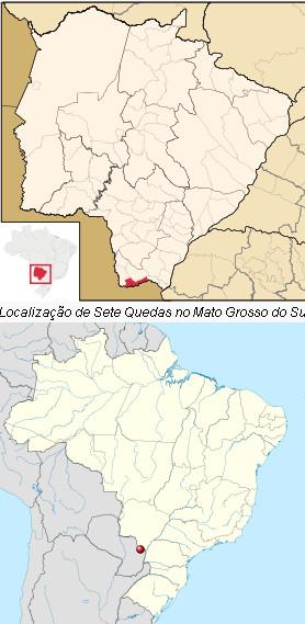 Diep in de Amazone liggen de watervallen van de Sete Quedas, waar een van de grootste stuwdammen en electriciteitscentrales van de wereld dienen te komen.