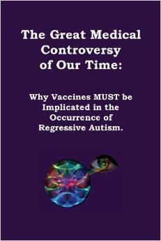 Een boek dat niet pro- of contra vaccinaties is. Ondanks het feit dat veel van de mensen die blind geloven in het gebruik van vaccins, zeggen dat dit wel het geval is; dat dit een boek is tegen het gebruik van vaccins. Het boek is bedoeld als aanzet tot goede en eerlijke wetenschap en om een bijdrage te leveren aan het ontrafelen van een van de grootste medische controverse in de moderne tijd: waarom regressief autisme optreed en welke maatregelen we kunnen nemen om het risico van dergelijke symptomen en diagnoses te verminderen of geheel te elimineren..