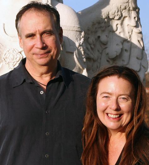 Tom Kenyon met echtgenote Judy Sion