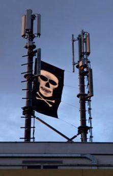 umts-mast-met-vlag
