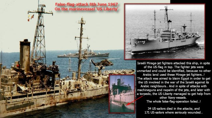 US Liberty false flag operation