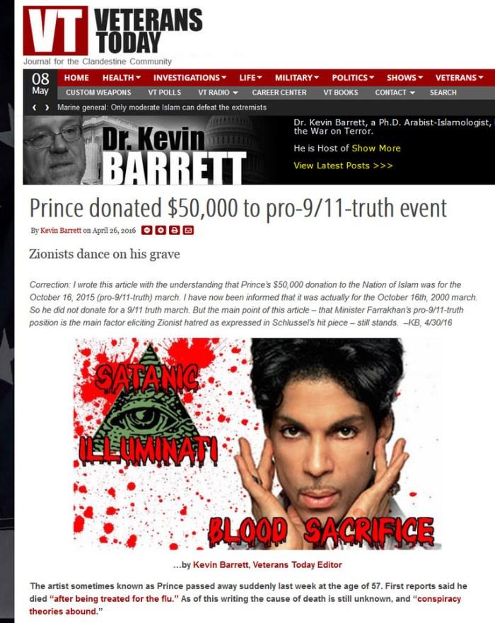 VT prince illuminatie