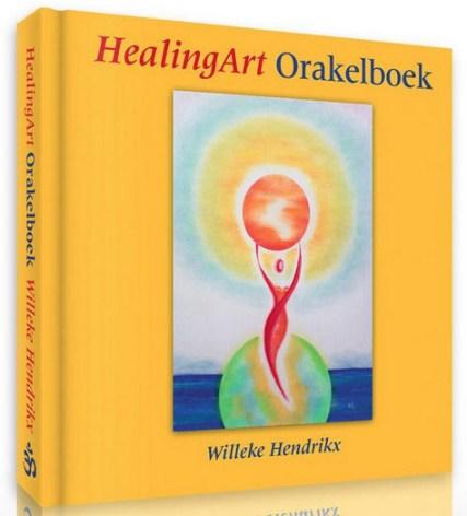 Het 'Healing Art Orakelboek'. (klik voor lead naar verkoopkanaal)