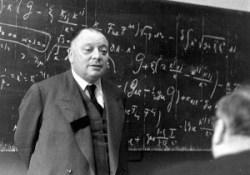 Prof. Dr. Wolfgang Pauli, zowel in de fysiek-atomaire wereld, als in de wereld van het onbewuste, een pionier, die zijn tijd ver vooruit was.