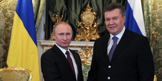 Russian President Vladimir Putin Meets President of Ukraine Viktor Yanukovych