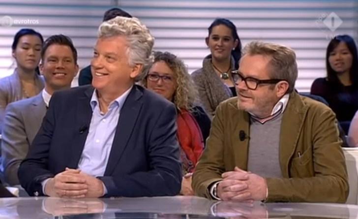 Ad Broere en George van Houts bij Radar Tv op 26 januari 2015.