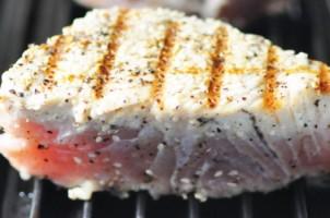 Albacore tonijn, prima alternatief voor de blauwvin tonijn, die met uitsterven wordt bedreigd door overbevissing..